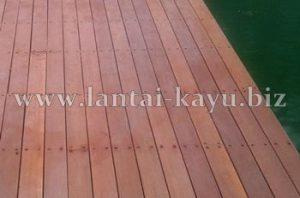 Decking kayu | Kayu ulin