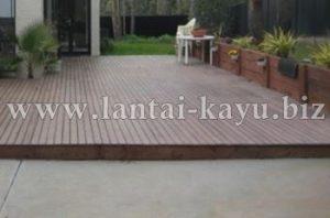 Lantai kayu outdoor | Decking kayu