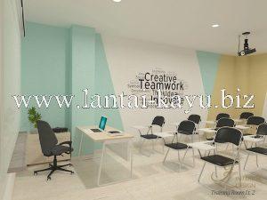 Desain interior kantor ruang training