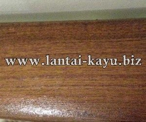 Railing Tangga Jati Finish Natural