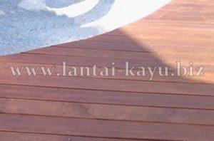 Decking Kayu | Kayu Merbau