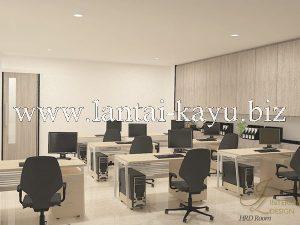 Desain interior kantor ruang HRD