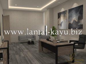 Desain interior kantor ruang manager / direktur